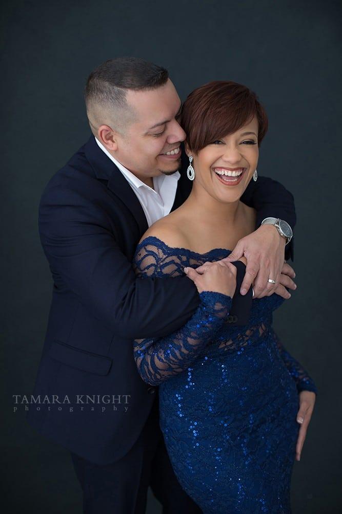 couples-photoshoot-husband-hugs-wife | Tamara Knight Photography
