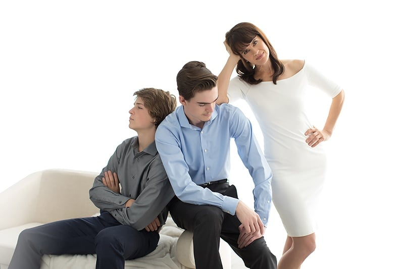sons-and-mother-on-couch-portrait