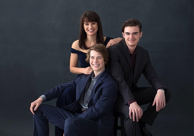 mother-sons-casual-portrait-formal-wear