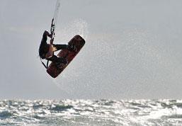 Beach Activities around Playa Grande include Kite Surfing in Costa Rica