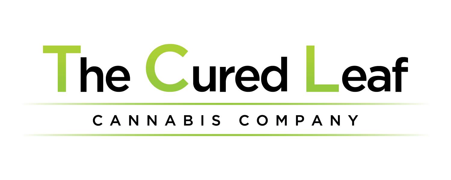 The Cured Leaf Logo