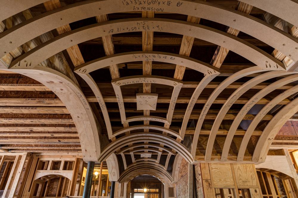 Groin Arch Ceiling