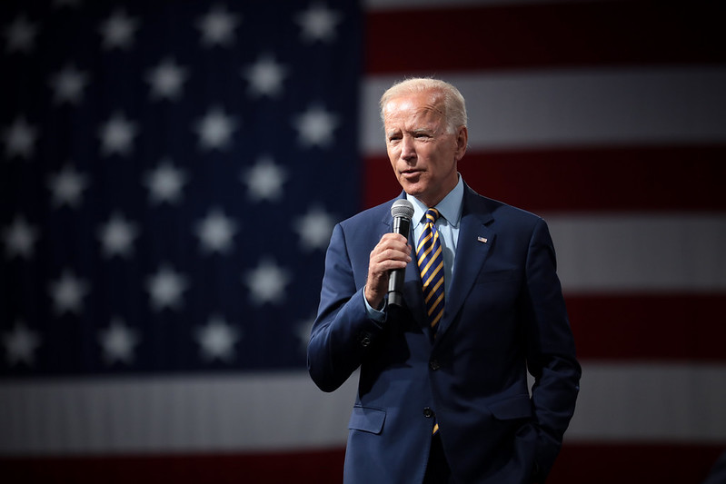 "Joe Biden Appeal to bring an End to ""Needless Violence"""