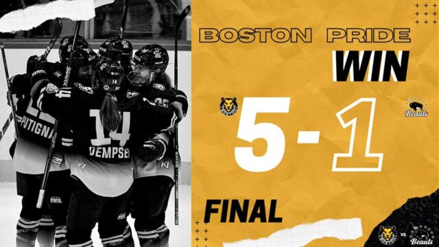 Boston Pride WIN- National Women's Hockey League Game 2 Recap-NWHL