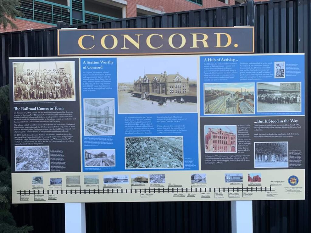 Celebrating The History of The Concord NH Railway Station