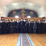The concelebrating clergy of the Holy Synaxis, 2013