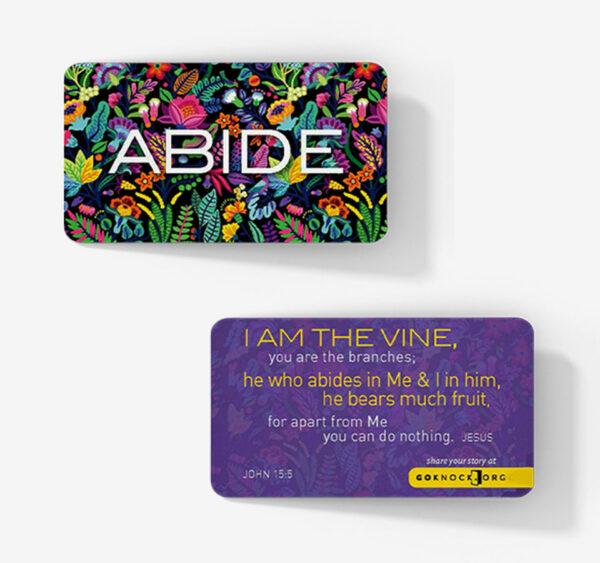 """""""Abide Card"""""""