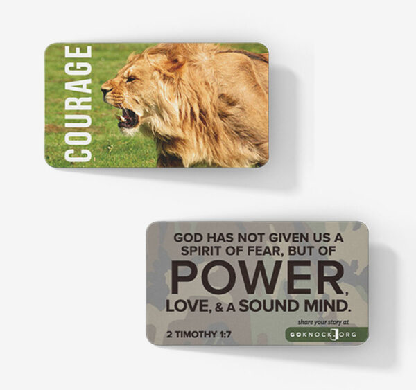 """""""Courage Card"""""""