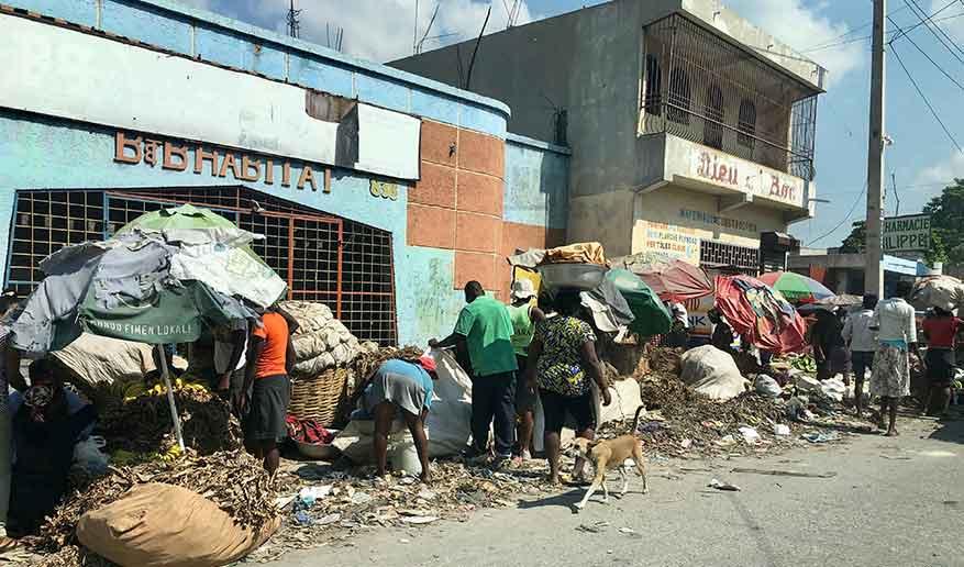 """Haitian street"""