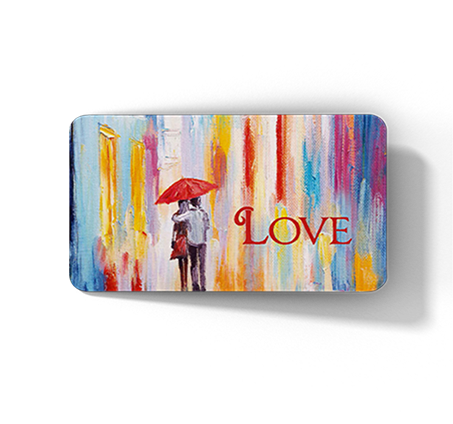 """Front of love card"""