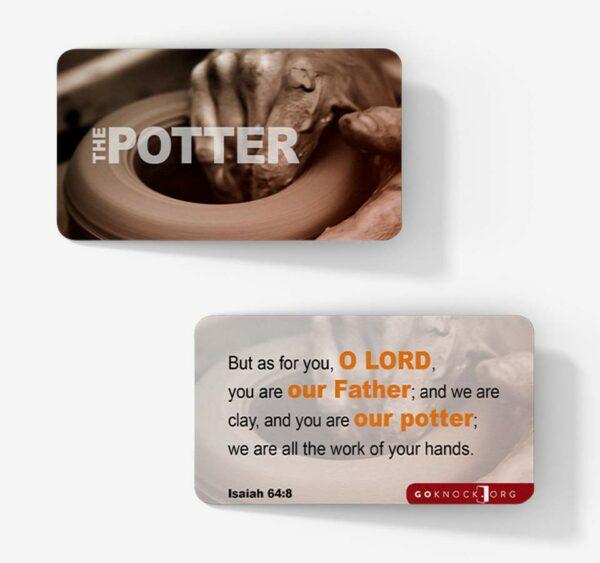 """Potter's wheel card"""