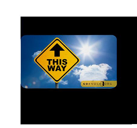 This Way Card