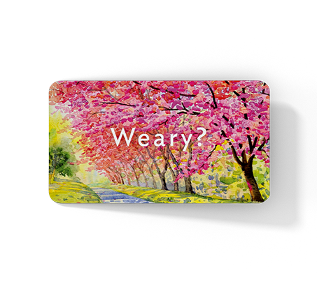 """""""Front of Weary card"""""""