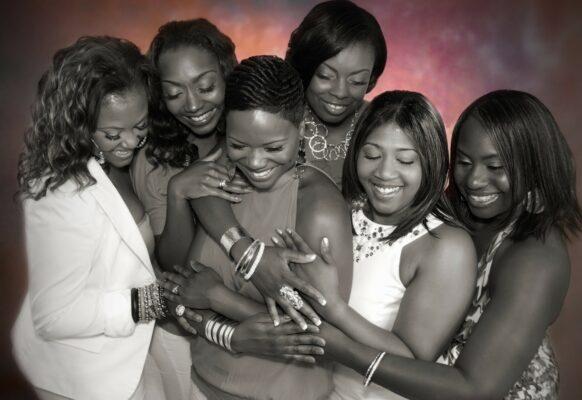6 African-American ladies