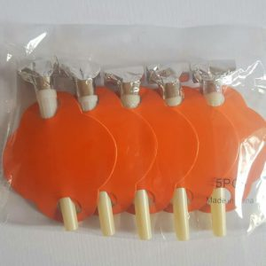 Orange colourful party blowers.