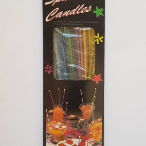 Colourful Sparkling Candles