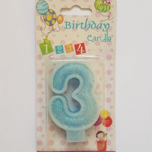 No. 3 Blue Candle