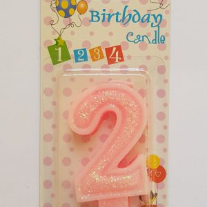 No. 2 Pink Candle