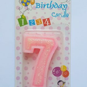 No. 7 Pink Candle