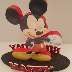 Mickey Mouse happy birthday center piece