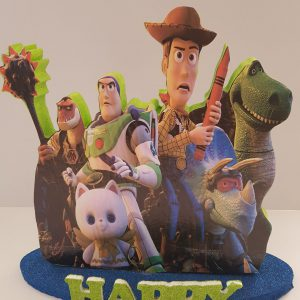 Toy Story happy birthday center piece