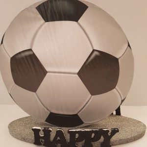 Soccer happy birthday center piece