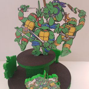 Ninja Turtles themed center piece