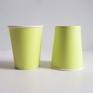 Lime Green colourful party cups