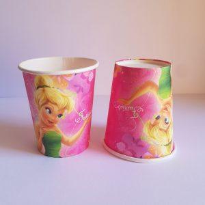 Tinkerbell themed cups