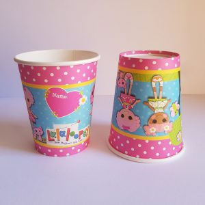 Layla Loopsie themed cups
