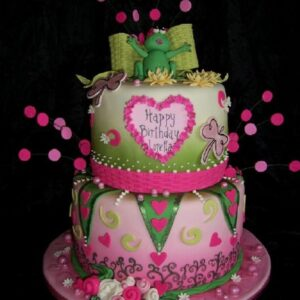 Girls cake  GC-002