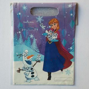 Frozen themed party bags