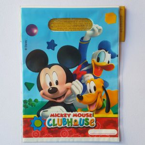 Mickey Clubhouse themed party bags