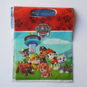 Paw Patrol themed party bags