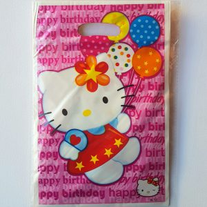 Hello Kitty themed party bags