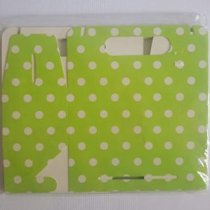 Colourful party boxes, Lime Green.