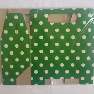 Colourful party boxes, Green.