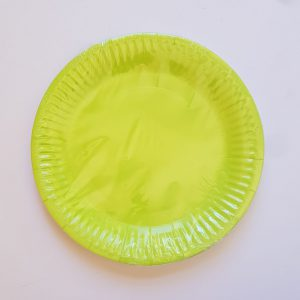 Lime Green colourful party plates