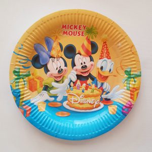 Mickey Clubhouse plates