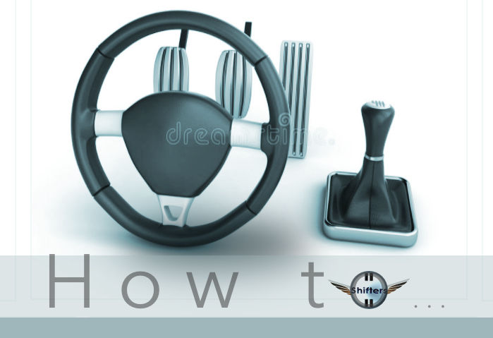 How to change from automatic transmission to stick