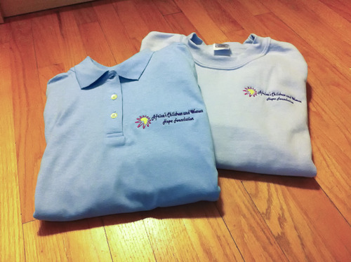 acwhf embroidered polo shirts