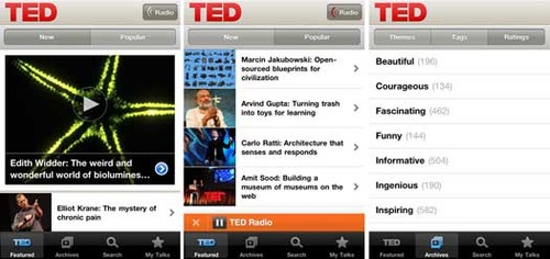 Ted app for iphone