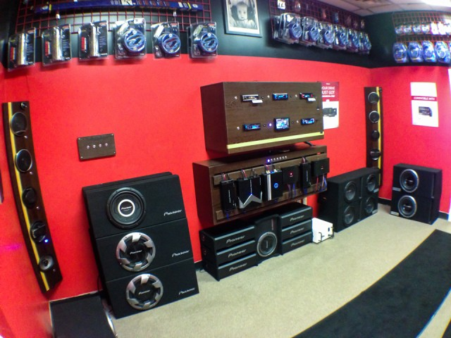 Mobile Electronics soundroom after remodel