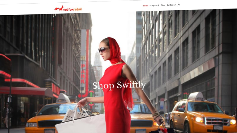 redfox retail website screenshot