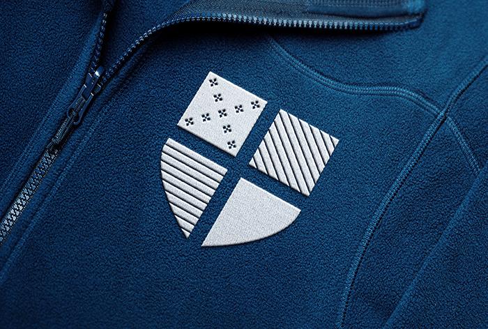 Embroidered Jacket - crest