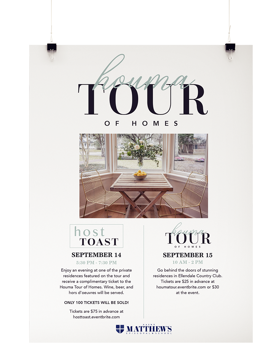 Tour of Homes Poster