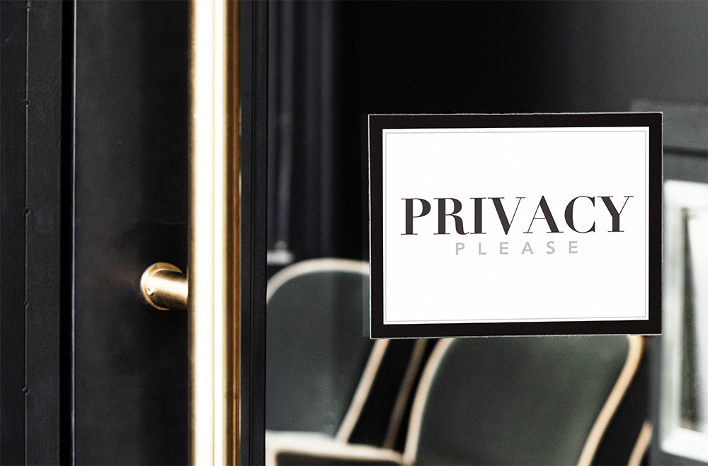 Tour of Homes - Privacy Sign