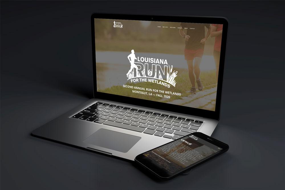 Louisiana-Run-website-mockup