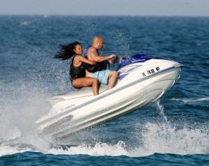 jumping jetski
