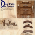 Antler Cabinet Handles and Drawer Pulls